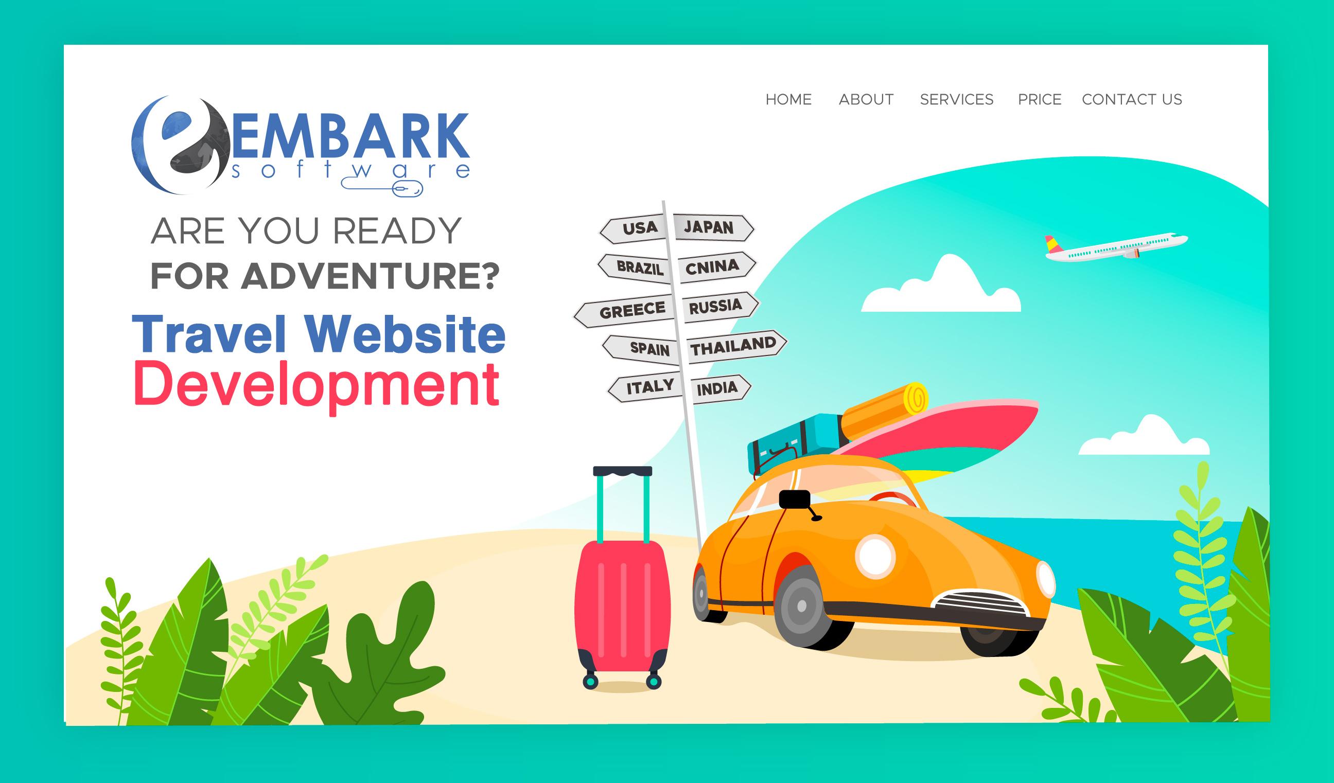 Main Motive of the Travel Website Development